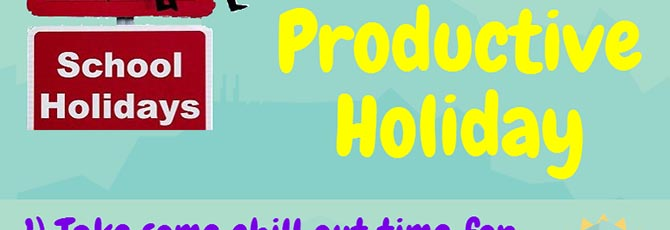 10 Ways to have a Productive Holiday