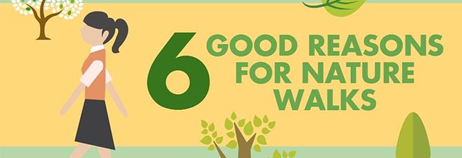 6 Good Reasons for Nature Walks