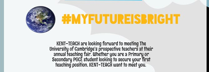 #MYFUTUREISBRIGHT - Our journey continues to the University of Cambridge