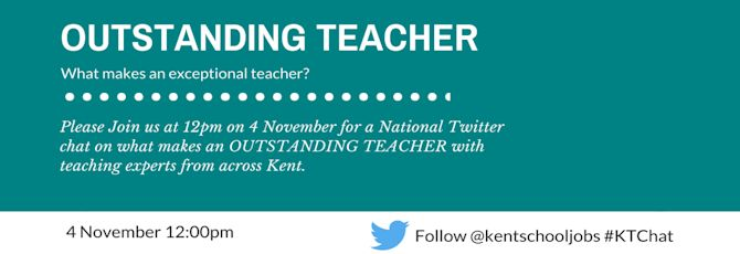 #OutstandingTeacher Twitter Chat