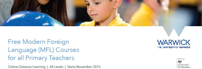 FREE online distance learning courses in MFL