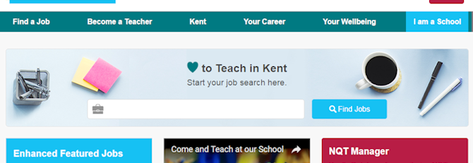 Searching for jobs on Kent-Teach just got easier!