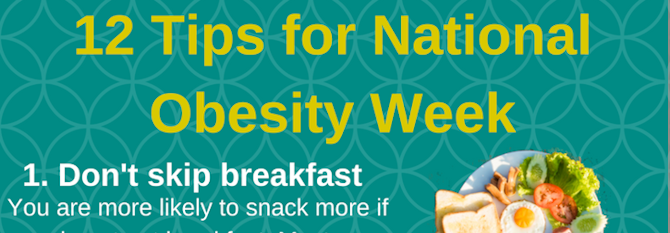 12 Tips for National Obesity Week