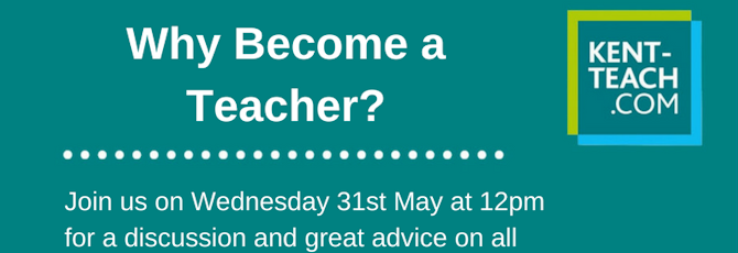 Upcoming Twitter Chat: Why Become a Teacher?