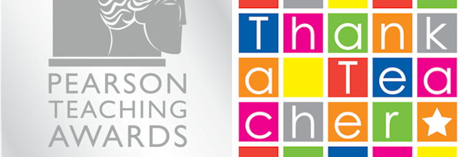 The Pearson Teaching Award Winners - #ThankATeacherDay