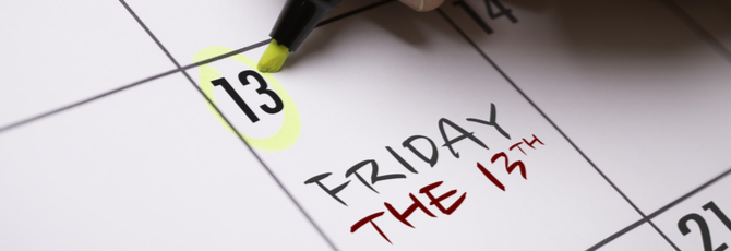 Friday 13th...Unlucky for Some?
