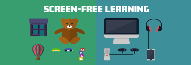 Screen-Free Learning at School and Home