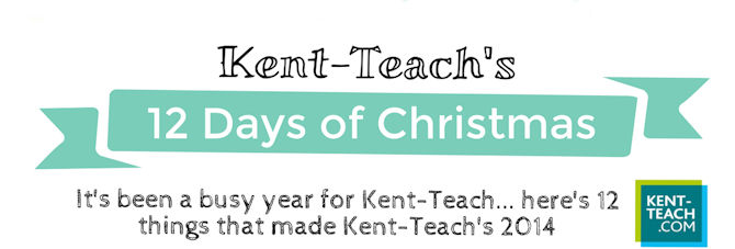 Kent-Teach's 12 Days of Christmas