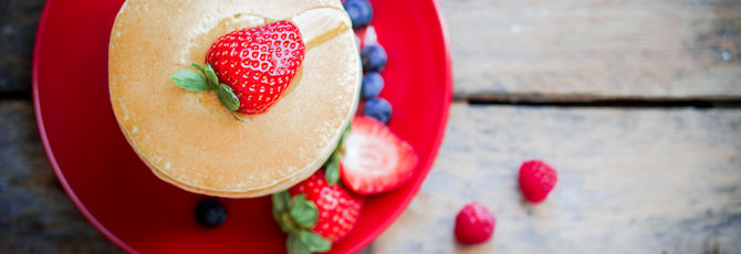 3 Top Healthy Pancake Recipes for Shrove Tuesday