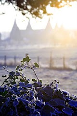 Winter Frost Oast Houses - Photo by Tim Stubbings