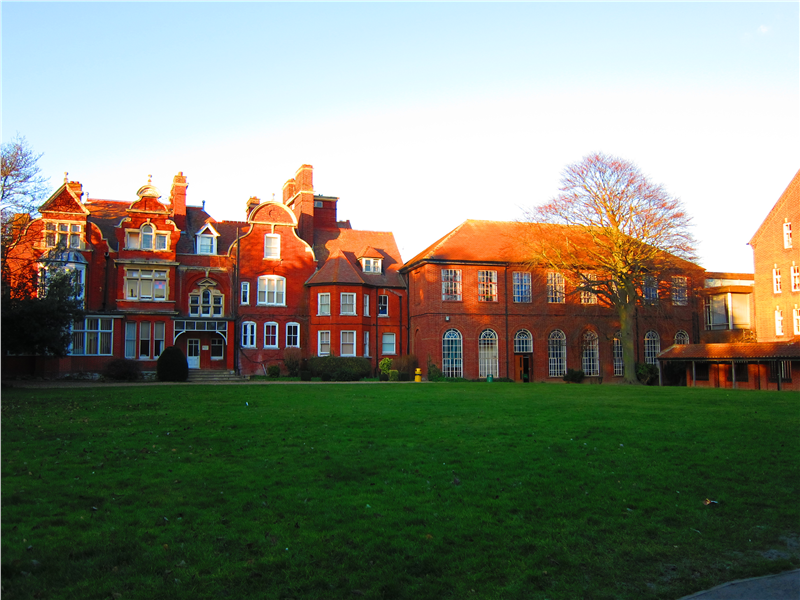 Hatton House and the Chapel Lawn