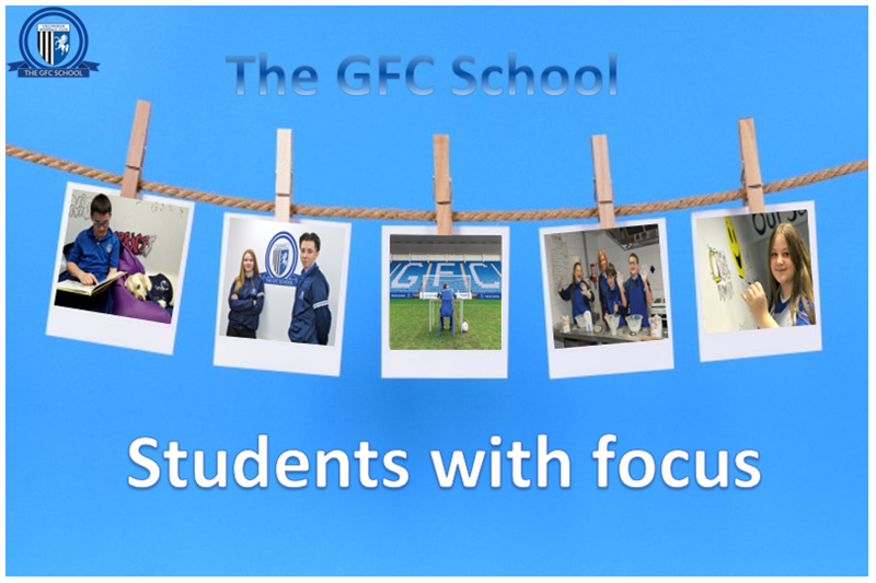 Students with focus